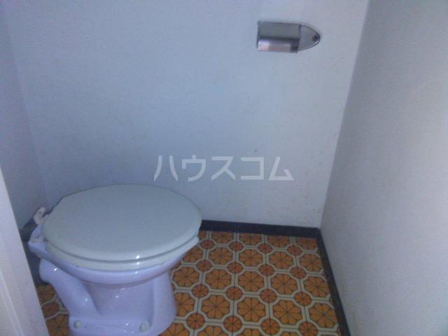 コーポ青山 2-2号室のトイレ