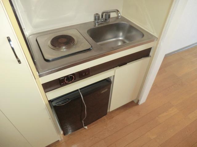 メゾン静 403号室のキッチン