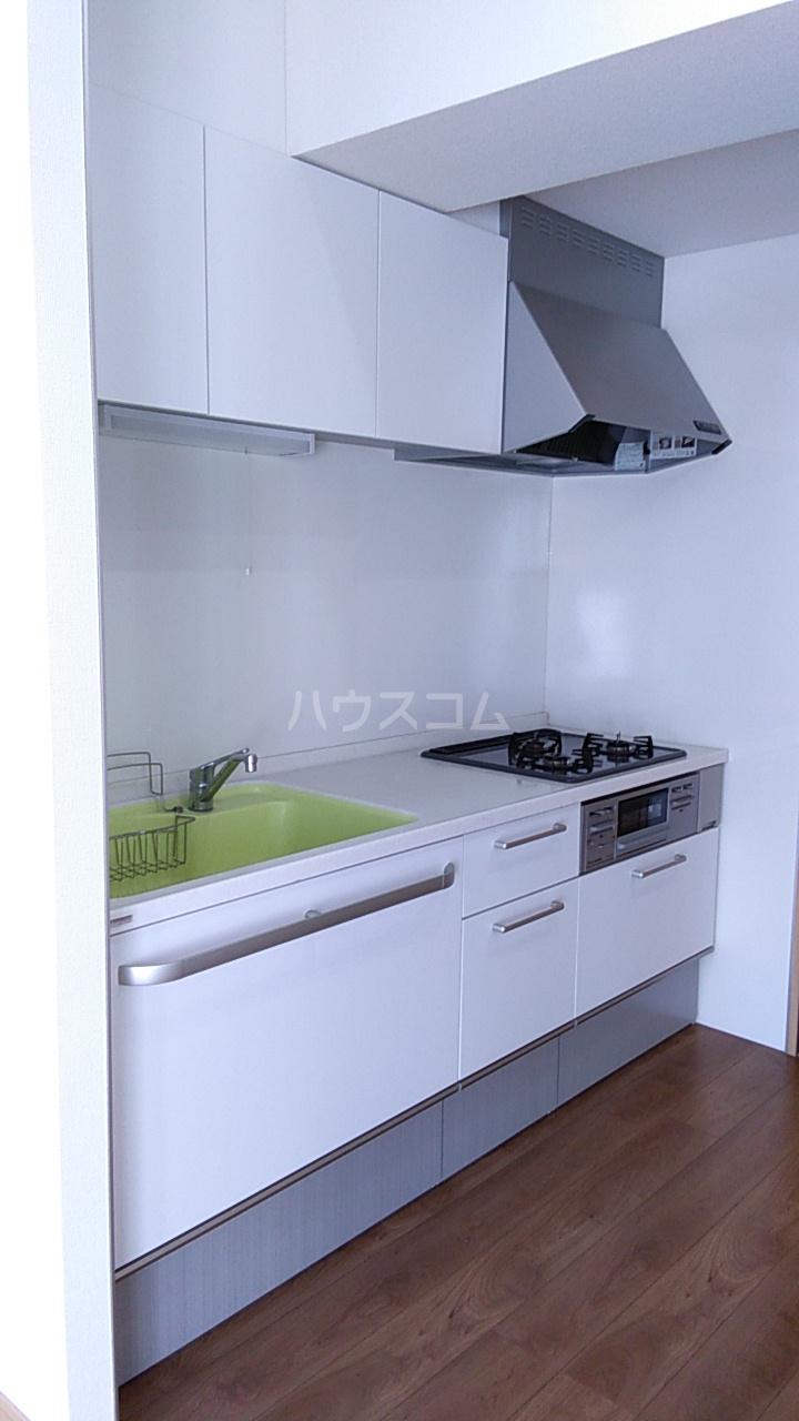APLⅡ 303号室のキッチン