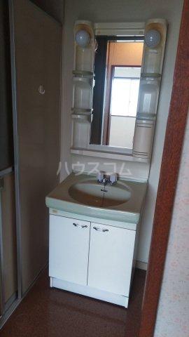 アルカディア高崎 201号室の洗面所