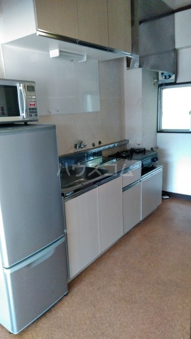 総和ハイツ6 502号室のキッチン