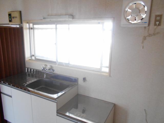 ニューサンシャインホリコシ 302号室のキッチン