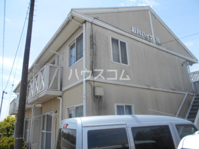 石川ハイツB 103号室のバルコニー