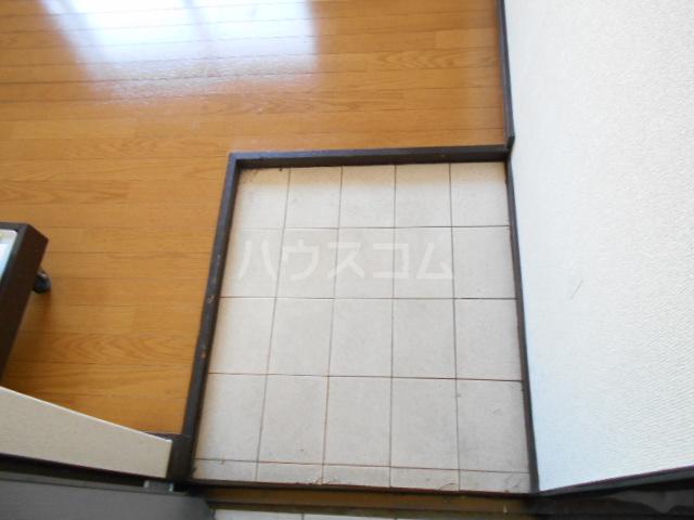 メゾンヤシマ 201号室の玄関