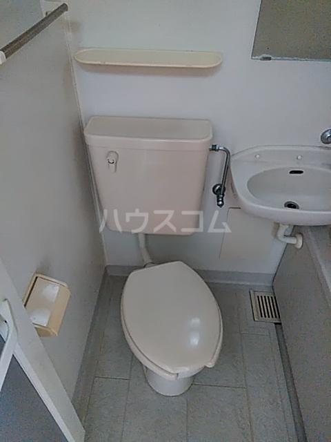 アルザス三番館 210号室のトイレ