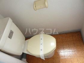 朔ハイツ 305号室のトイレ