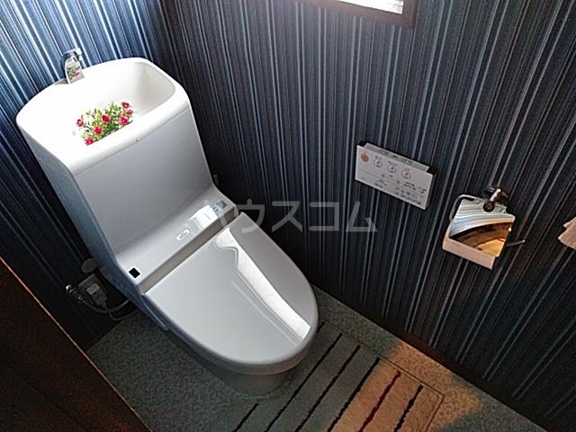 シェアハウスパンプキン A号室のトイレ