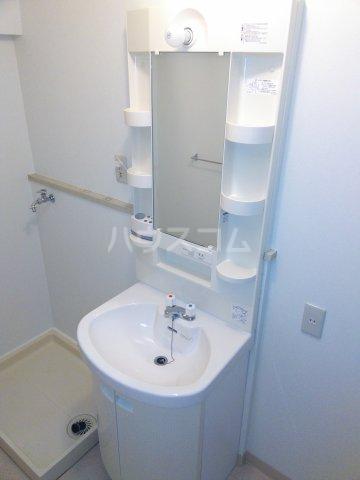 星川ハイツ 202号室の洗面所