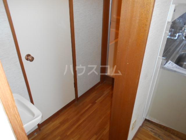 大竹コーポB棟 101号室の玄関