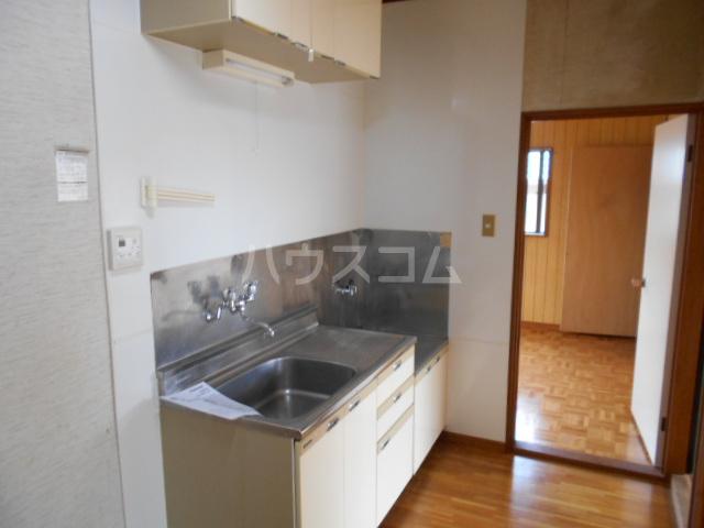 大竹コーポB棟 101号室のキッチン