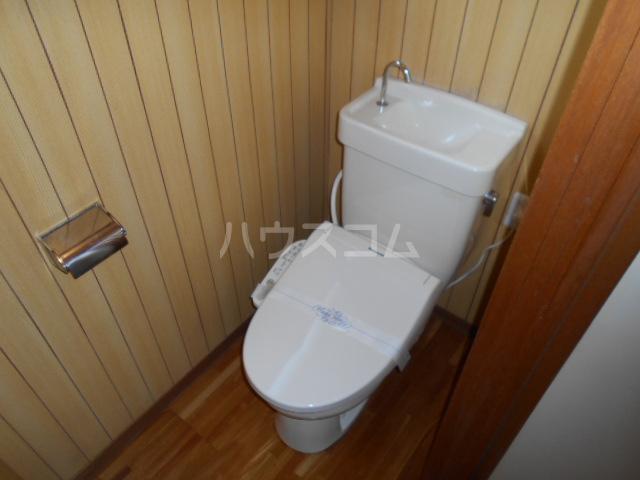 大竹コーポB棟 101号室のトイレ