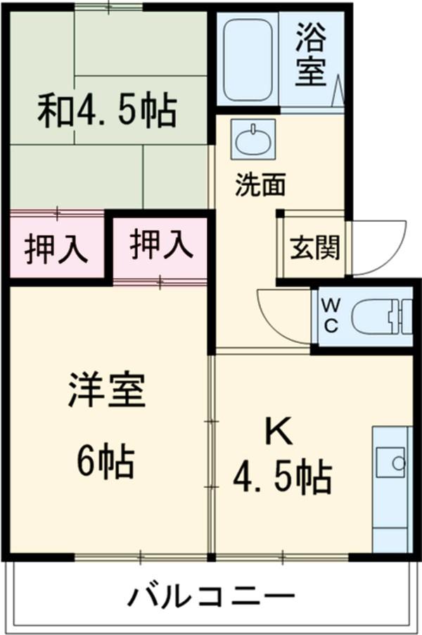 高崎昭和ビル 303号室の間取り