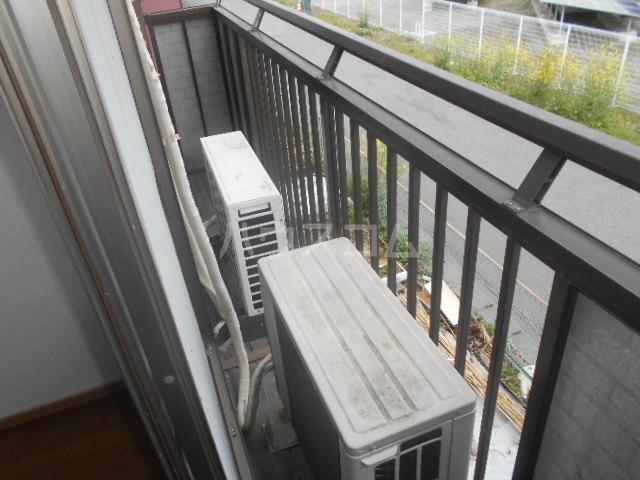 富士ハイツC棟 205号室のバルコニー