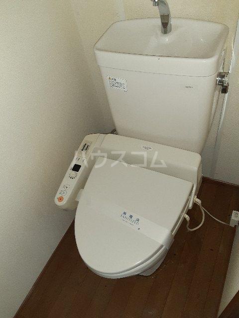 N.HラッキーハイツB 201号室のトイレ