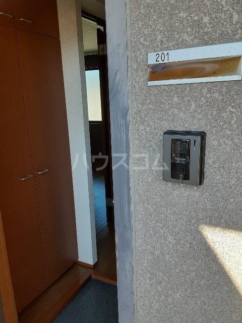 N.HラッキーハイツB 201号室のベッドルーム