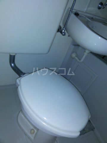 ベルトピアクマガヤ6 203号室のトイレ