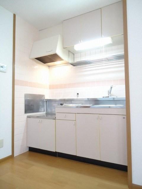 パークウッドB 02020号室のキッチン