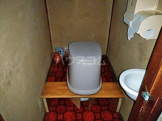 反町貸家のトイレ
