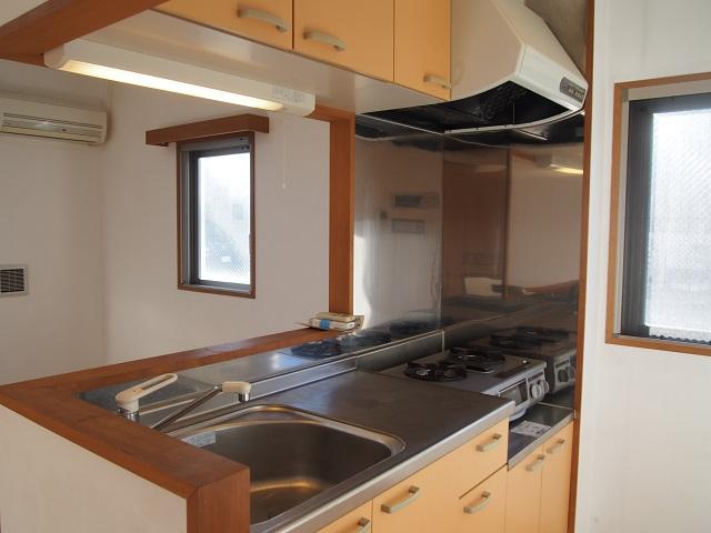 ALM HAUS 101号室のキッチン