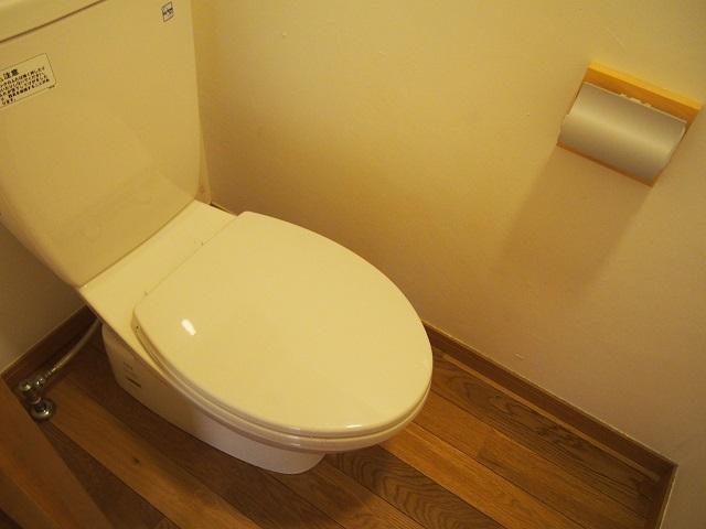 ALM HAUS 101号室のトイレ