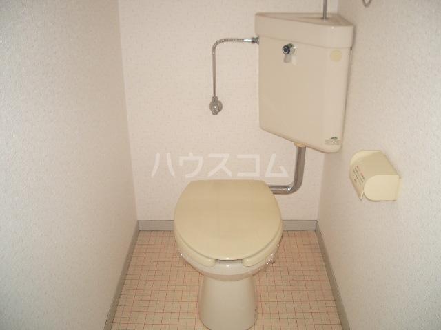 メゾン竜蔵寺 101号室のトイレ