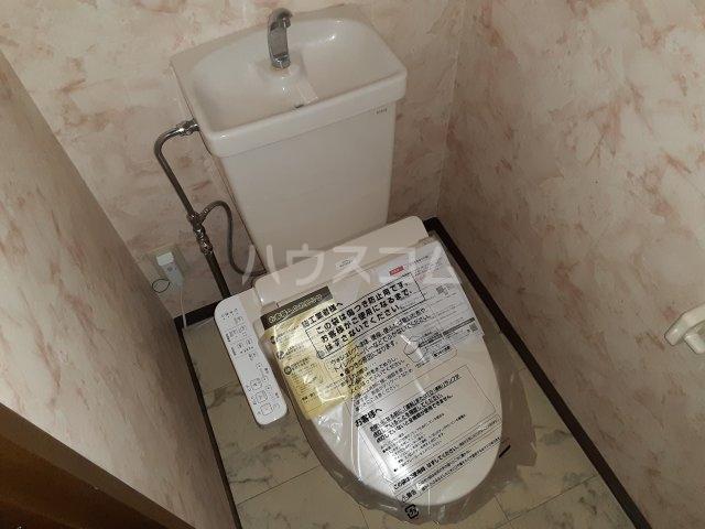 ライブパレス花水木 203号室のトイレ