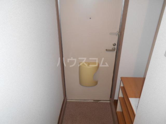 スズランハイツAⅠ 203号室のバルコニー