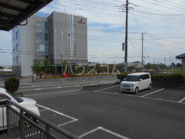 コーポ21A 202号室の駐車場