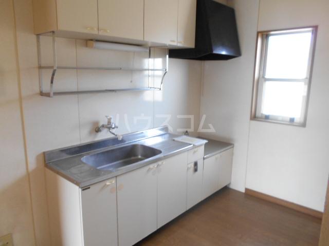 コーポ21A 202号室のキッチン