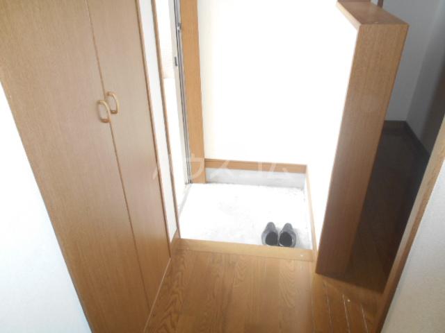 コーポ21A 202号室の玄関