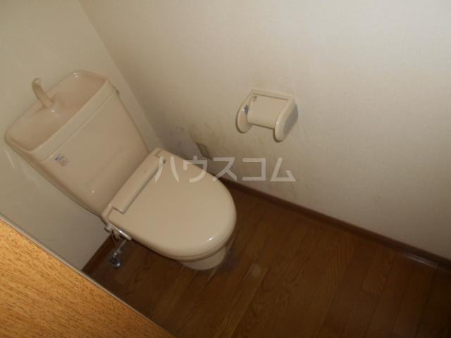 コーポ21A 202号室のトイレ