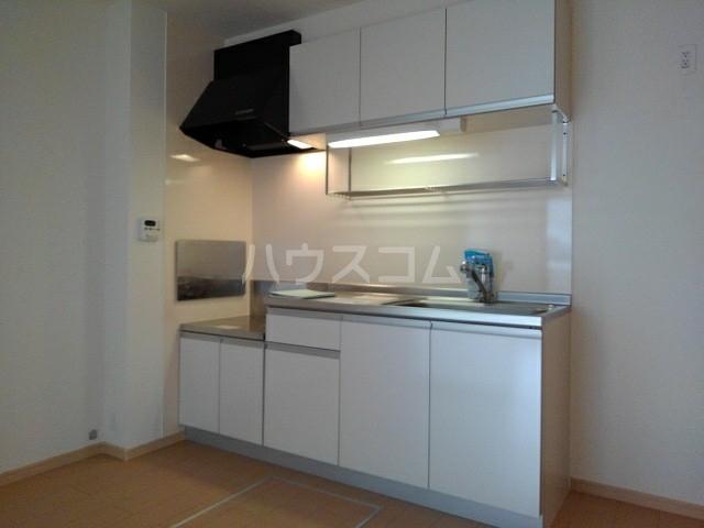シェーネB 02010号室のキッチン
