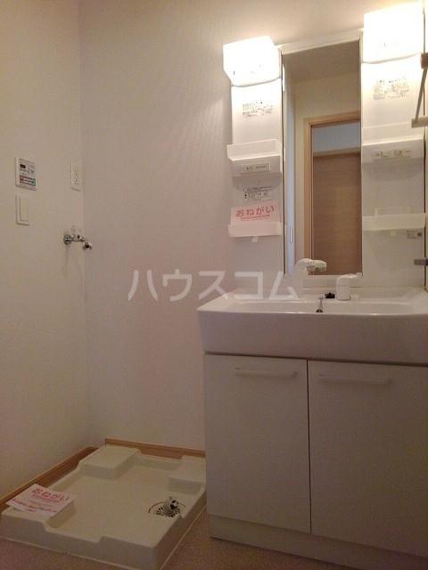 シェーネB 02010号室の洗面所