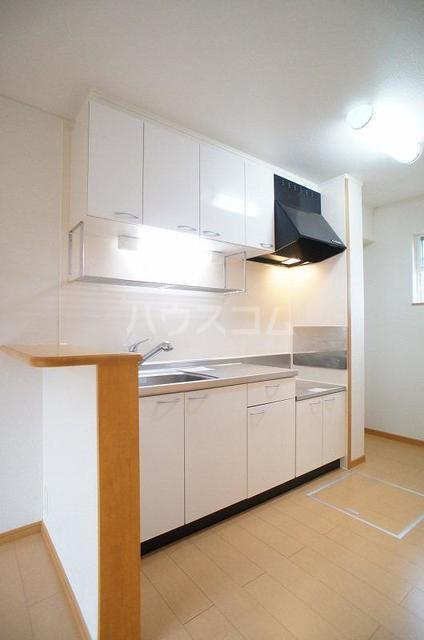 アルモニ-B 01020号室のキッチン