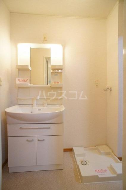 アルモニ-B 01020号室の洗面所