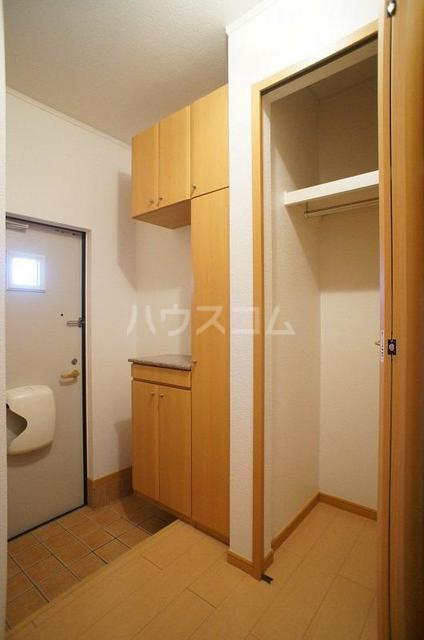 アルモニ-B 01020号室の玄関