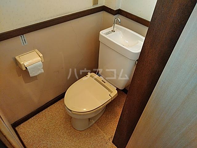 ミヤマコーポⅡ 202号室のトイレ