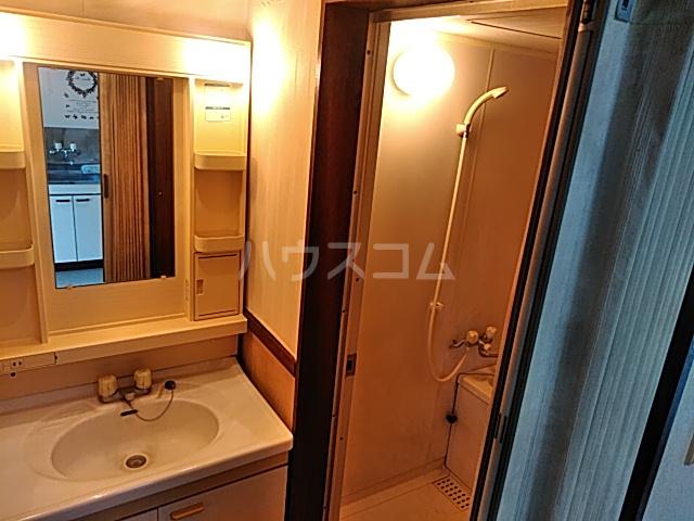 ミヤマコーポⅡ 202号室の洗面所