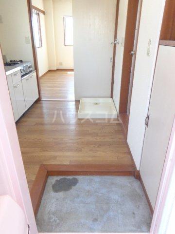 島崎マンション 201号室の玄関