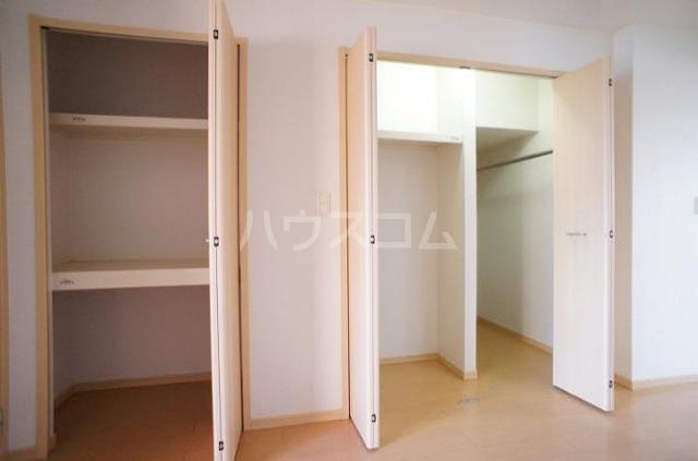 クラールA 01020号室の収納
