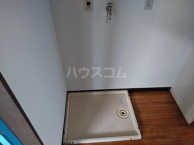 ハピネスハイツ 202号室の洗面所