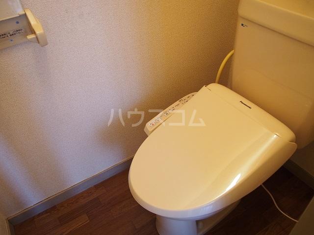 大塚ハイツC 201号室のトイレ