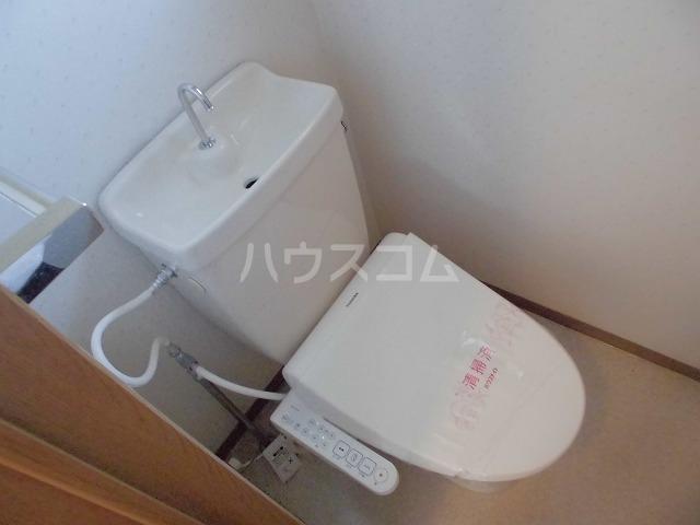 パルハウス 101号室のトイレ