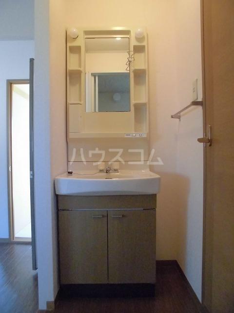 パルハウス 101号室の洗面所