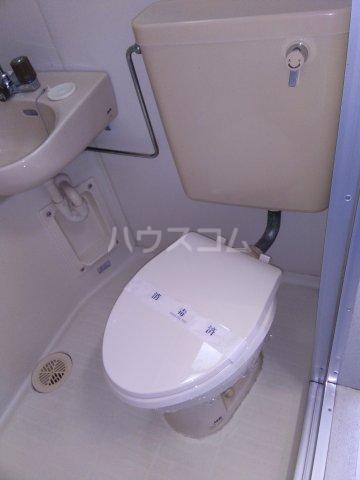 宮前ビル 803号室のトイレ