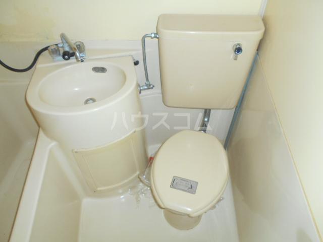 コーポ恵 202号室のトイレ