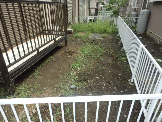 ブロッサムタウンの庭