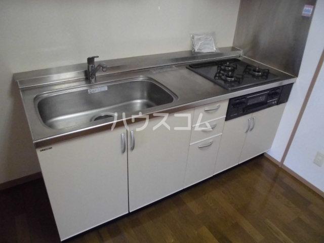ハートフルライフIWASA2 403号室のキッチン