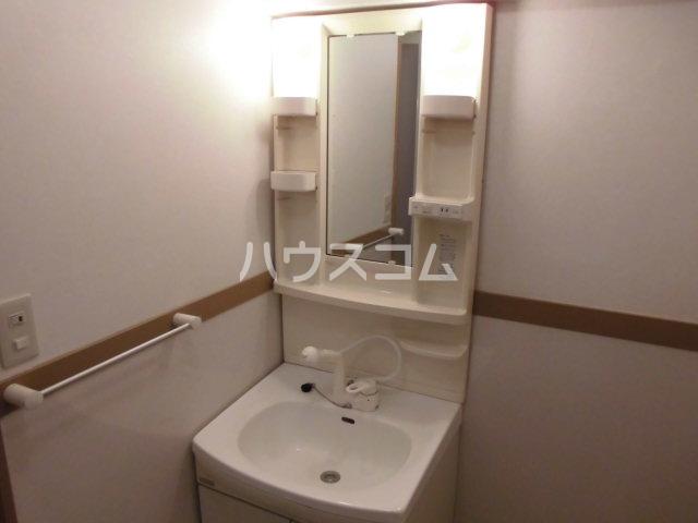 ハートフルライフIWASA2 403号室の洗面所