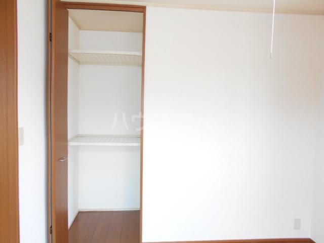 ヴィラ相生B 201号室の収納